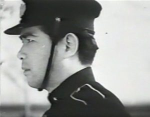 Photo of Officer Itami in the film